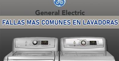 fallas comunes lavadoras general electric