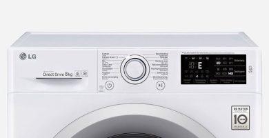 principales codigos de error de lavadoras lg